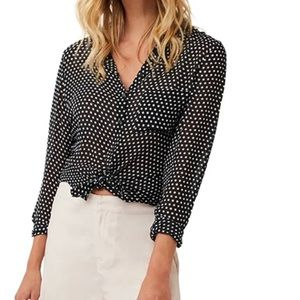 AS by DF Georgette Blouse